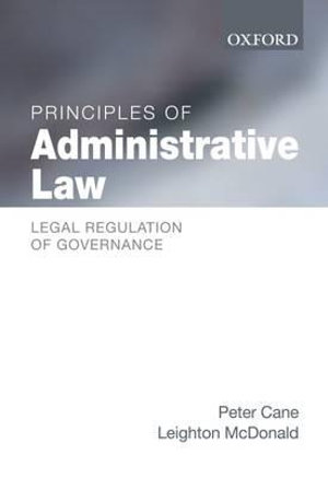 Cover of Principles of Administrative Law