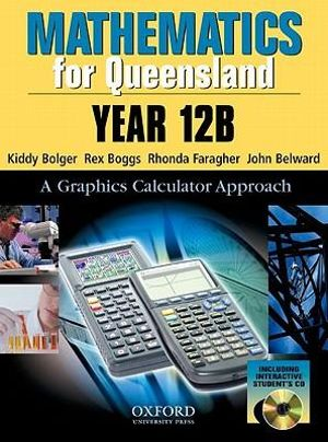 Cover of Mathematics for Queensland
