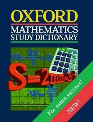 Cover of Mathematics Study Dictionary