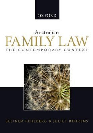 Cover of Australian Family Law