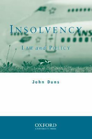 Cover of Insolvency
