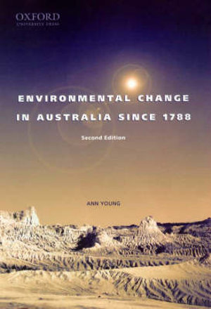 Cover of Environmental Change in Australia Since 1788