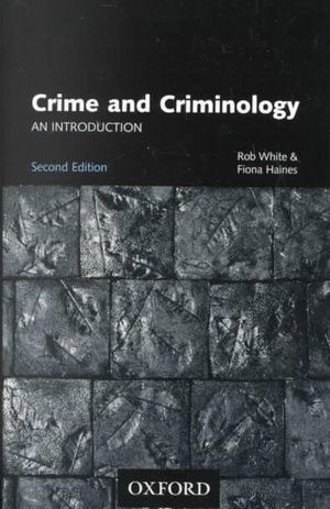 Cover of Crime and criminology