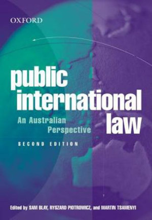 Cover of Public International Law
