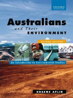 Cover of Australians and Their Environment