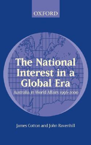 Cover of The national interest in a global era