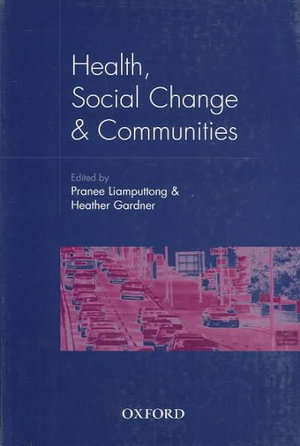 Cover of Health, social change & communities