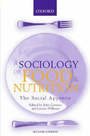 Cover of A Sociology of Food & Nutrition
