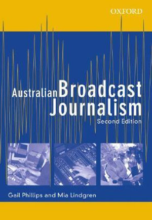 Cover of Australian Broadcast Journalism