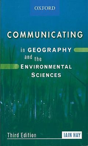 Cover of Communicating in Geography and the Environmental Sciences