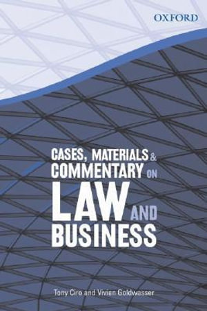 Cover of Cases, Materials & Commentary on Law and Business