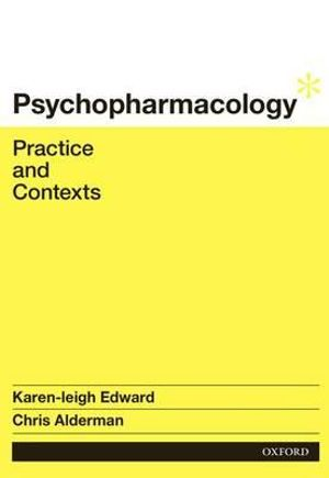 Cover of Psychopharmacology: Practice and Contexts