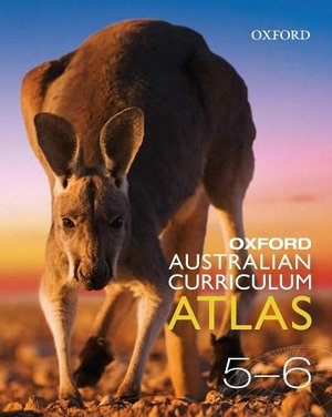 Cover of Oxford Australian Curriculum Atlas Years 5-6