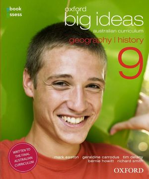 Cover of Oxford Big Ideas Geography/History 9 Student Book + Obook/assess