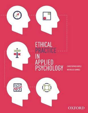 Cover of Ethical Practice in Applied Psychology