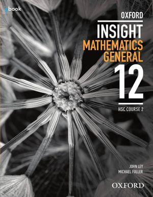 Cover of Insight Mathematics General, 2e HSC Course (Pathway 2) Student Book + Obook