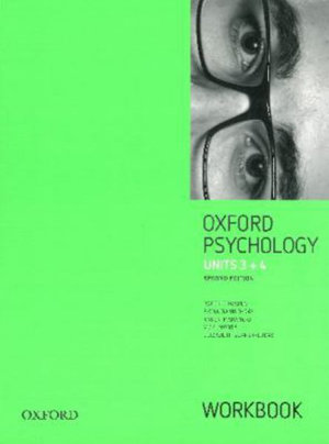 Cover of Oxford VCE Psychology Units 3 and 4 Workbook