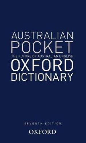 Cover of Australian Pocket Oxford Dictionary