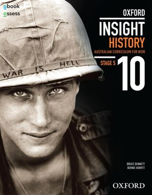 Cover of Oxford Insight History 10