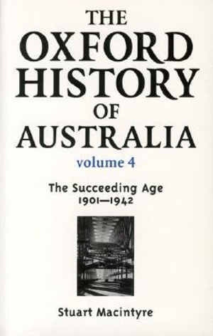 Cover of The Oxford History of Australia Volume 4
