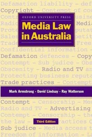 Cover of Media Law in Australia