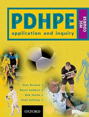 Cover of PDHPE Application and Inquiry