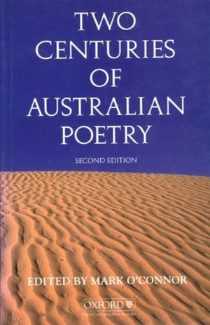 Cover of Two Centuries of Australian Poetry