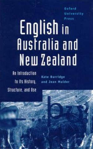 Cover of English in Australia and New Zealand