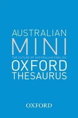Cover of The Australian Oxford Mini Thesaurus