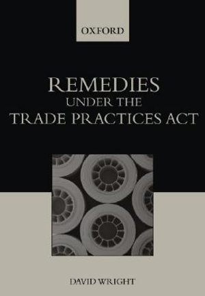 Cover of Remedies Under the Trade Practices Act