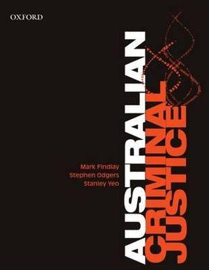 Cover of Australian Criminal Justice