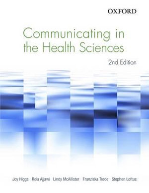 Cover of Communicating in the Health Sciences