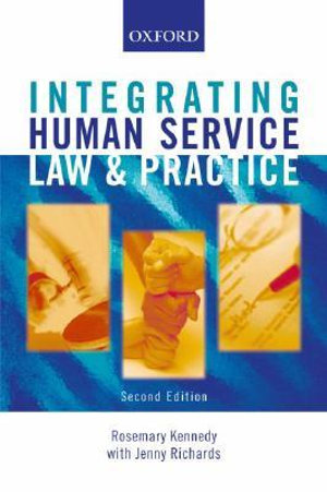Cover of Integrating Human Service Law and Practice