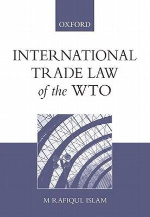 Cover of International Trade Law of The WTO