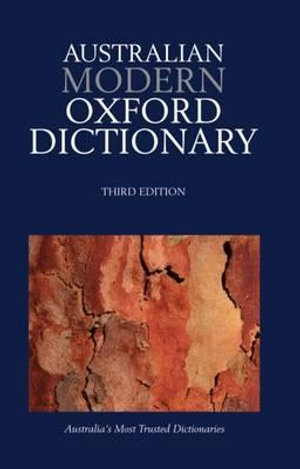 Cover of Australian Modern Oxford Dictionary