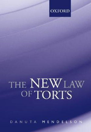 Cover of The New Law of Torts