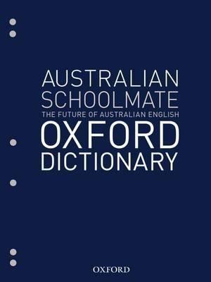 Cover of Australian Schoolmate File Dictionary
