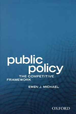Cover of Public policy