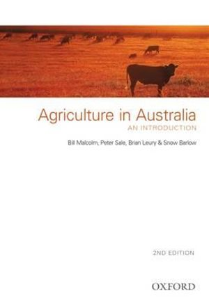 Cover of Agriculture In Australia