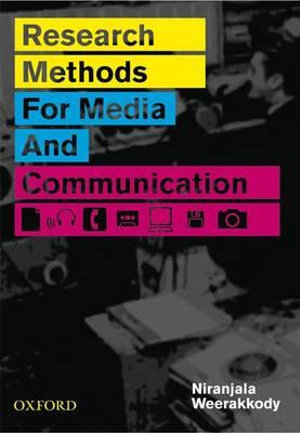 Cover of Research Methods for Media and Communications