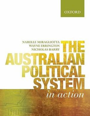 Cover of The Australian Political System in Action