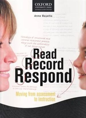 Cover of Read Record Respond Teachers Guide