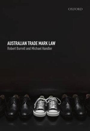 Cover of Australian Trademark Law