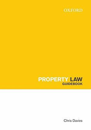 Cover of Property Law Guidebook