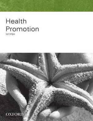 Cover of Determining Australia's Health