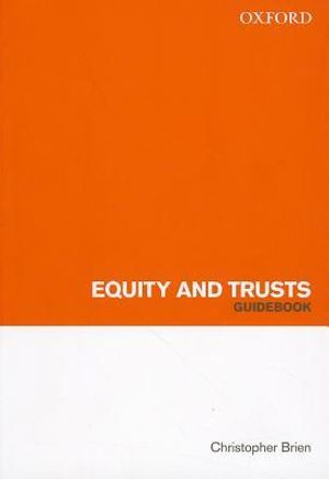 Cover of Equity and Trusts Guidebook