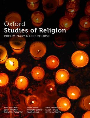 Cover of Oxford Studies of Religion Preliminary and HSC Course