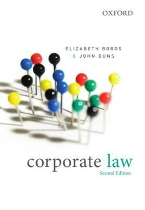 Cover of Corporate Law