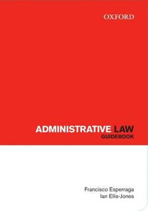 Cover of Administrative Law Guidebook