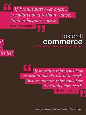 Cover of Oxford Commerce: Civics, Citizenship & Economics